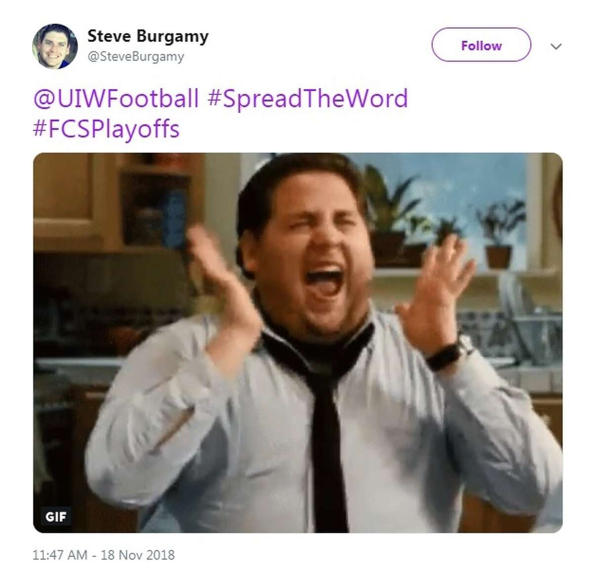 Reactions pour out on Twitter after UIW heads to the playoff for the first time in the program's history.