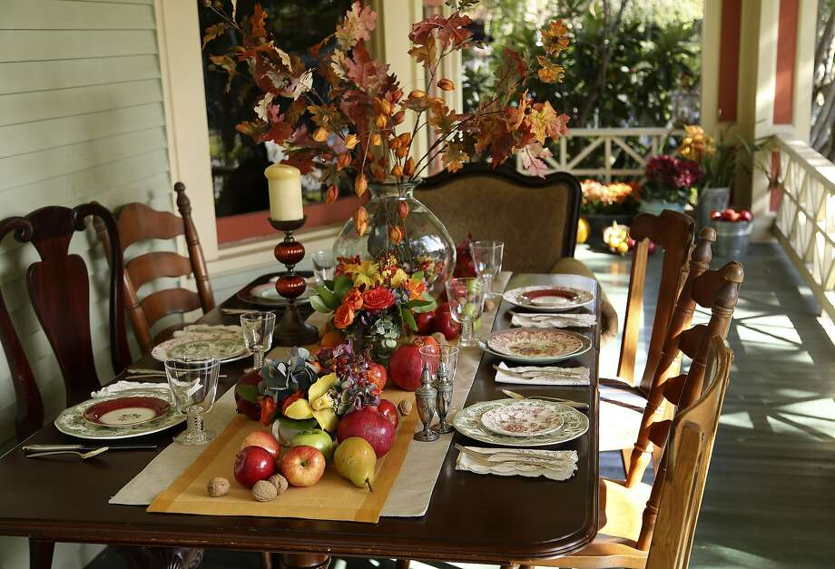 Many say their friends are like family (or, for some, better than family) so they're choosing to celebrating the traditional family-focused holiday that is Thanksgiving with their tribe — instead of, or in addition to, relatives. Photo: Karen Warren, Houston Chronicle