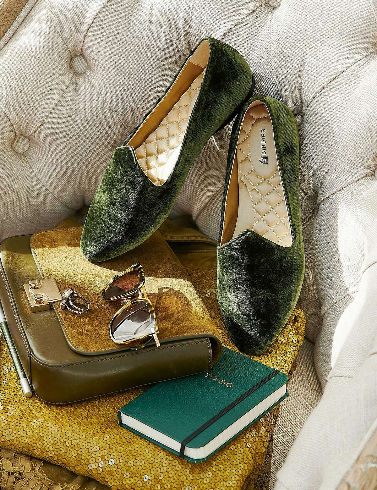 San Francisco startup Birdies is expanding with special collections and new styles, such as the Fall Heron in Olive.