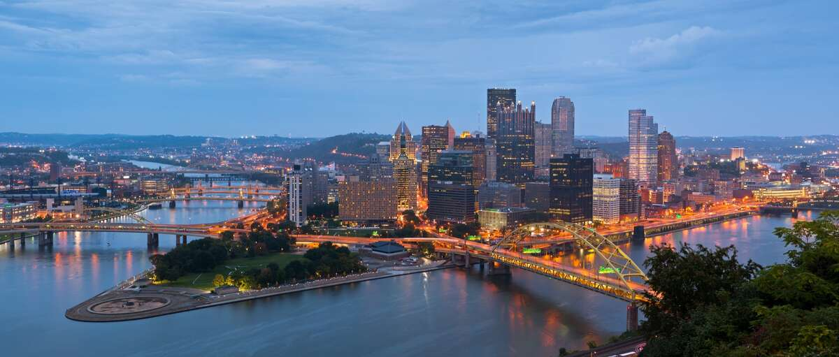 8. Pittsburgh - 1 coffee shop per every 2,607 people - 116 coffee shops/cafes in total