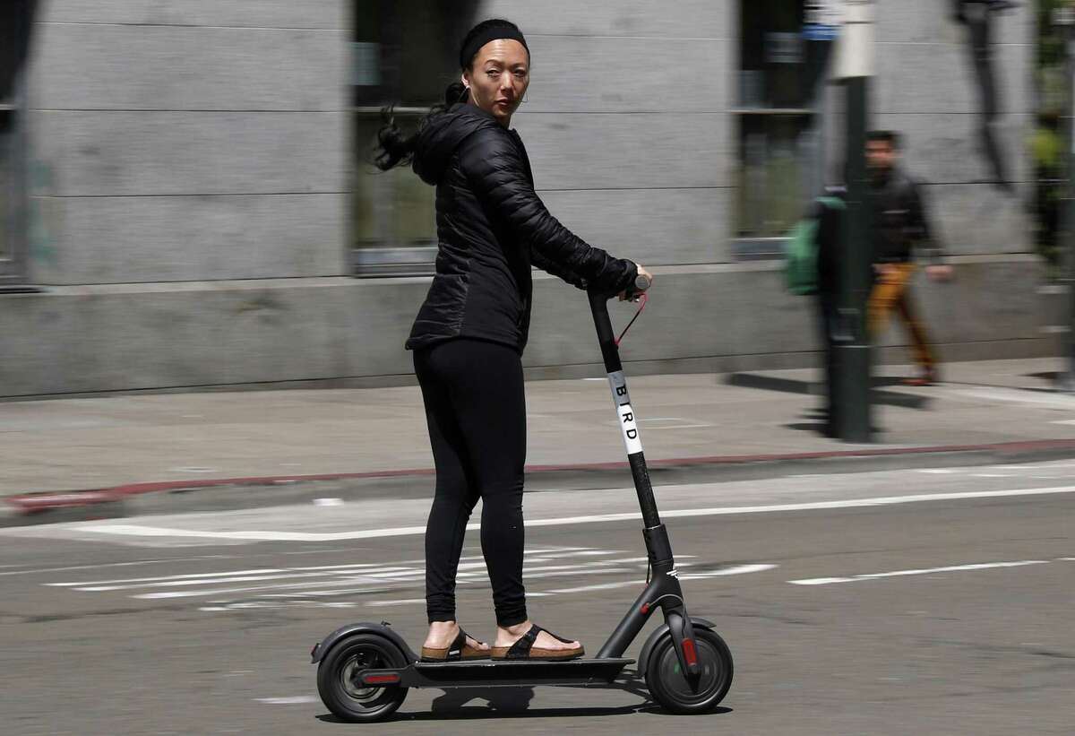 File Photo: Bird electric scooter.