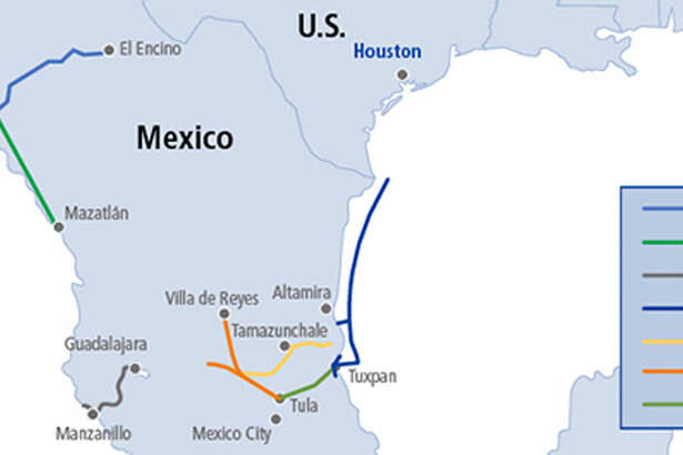 Calgary-based midstream company TransCanada is being several natural gas pipelines south of the border in Mexico. The company has halted two pipeline projects in the Central State of Hidalgo citing numerous delays, runaway costs and alleged acts of extortion.