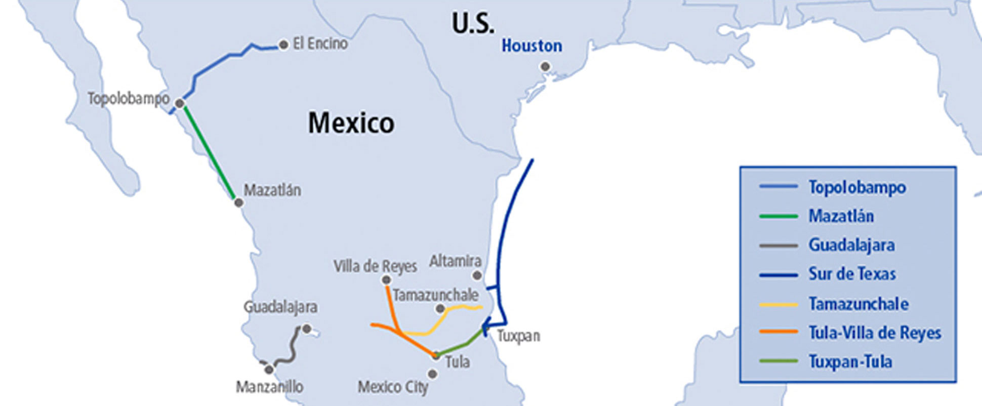 TransCanada halts work on two pipeline projects in Central Mexico