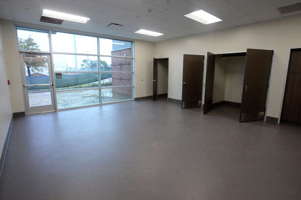 An activities room at the near-completed Lakeside Center in downtown Beaumont. The Building will be home to the Best Years Center and will offer space for social gatherings. Photo taken Monday, 11/19/18