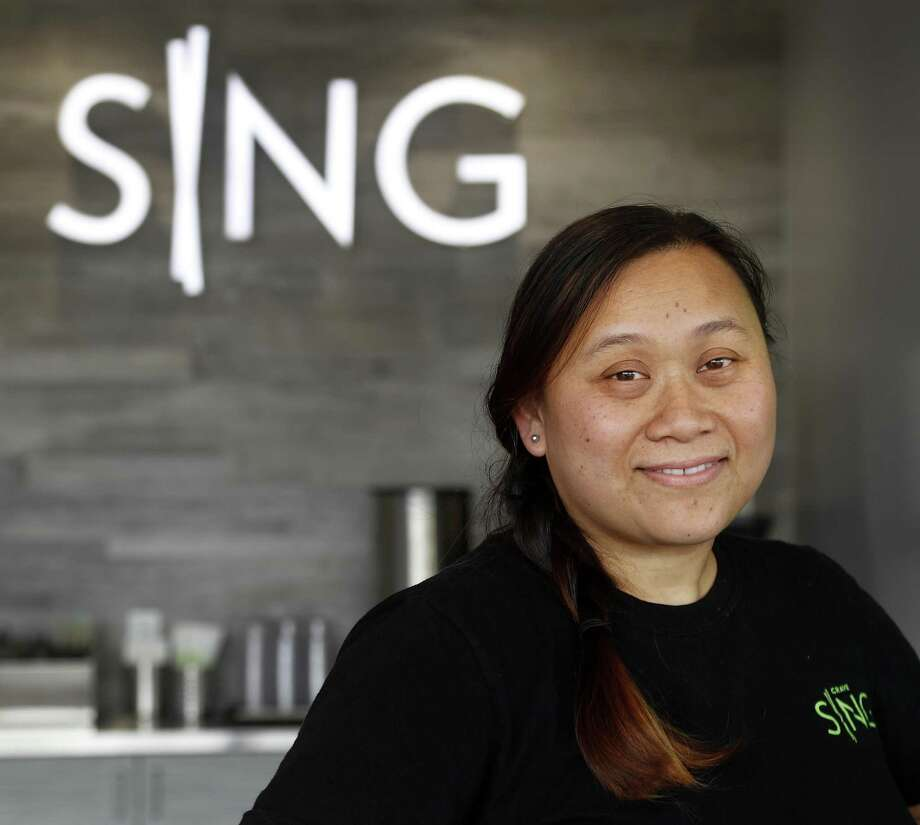 Cuc Lam, the founding chef/partner at Sing is no longer with the restaurant, according to Lasco Enterprises. Photo: Karen Warren, Houston Chronicle / Staff Photographer / © 2018 Houston Chronicle