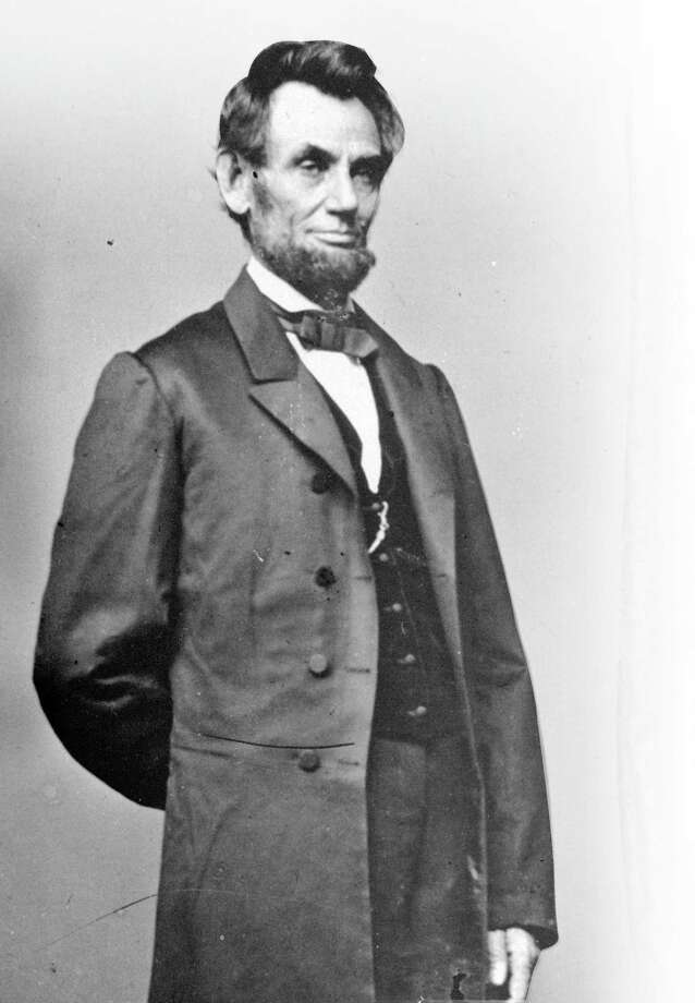 President Abraham Lincoln delivered the Gettysburg Address 155 years ago, when , language was treated with respect and dignity, pe and could inspire a nation instead of divide it. Photo: Associated Press File Photo
