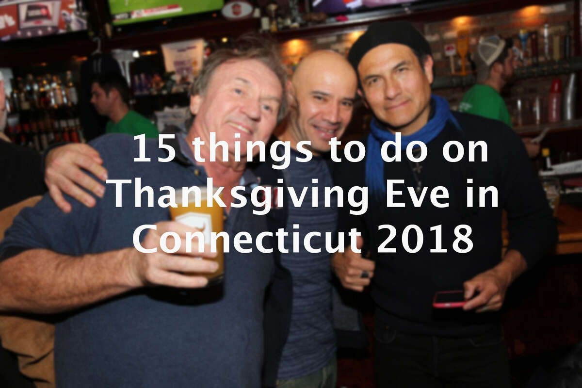The night before Thanksgiving always proves to be the biggest night out of the year, with millions stepping away from prepping the turkey, even if it's just for a couple of hours, to enjoy a night out. Click through to see some of the things you can do in Connecticut this Thanksgiving Eve.