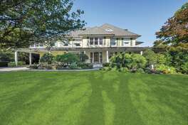 Located in a waterfront association south of the Village, 16 Ledge Road in Old Greenwich is listed for $4.25 million. Following the September interest-rate increase, listing agent Alison Leigh believes now is the time for buyers to pursue any properties they have been casually considering.