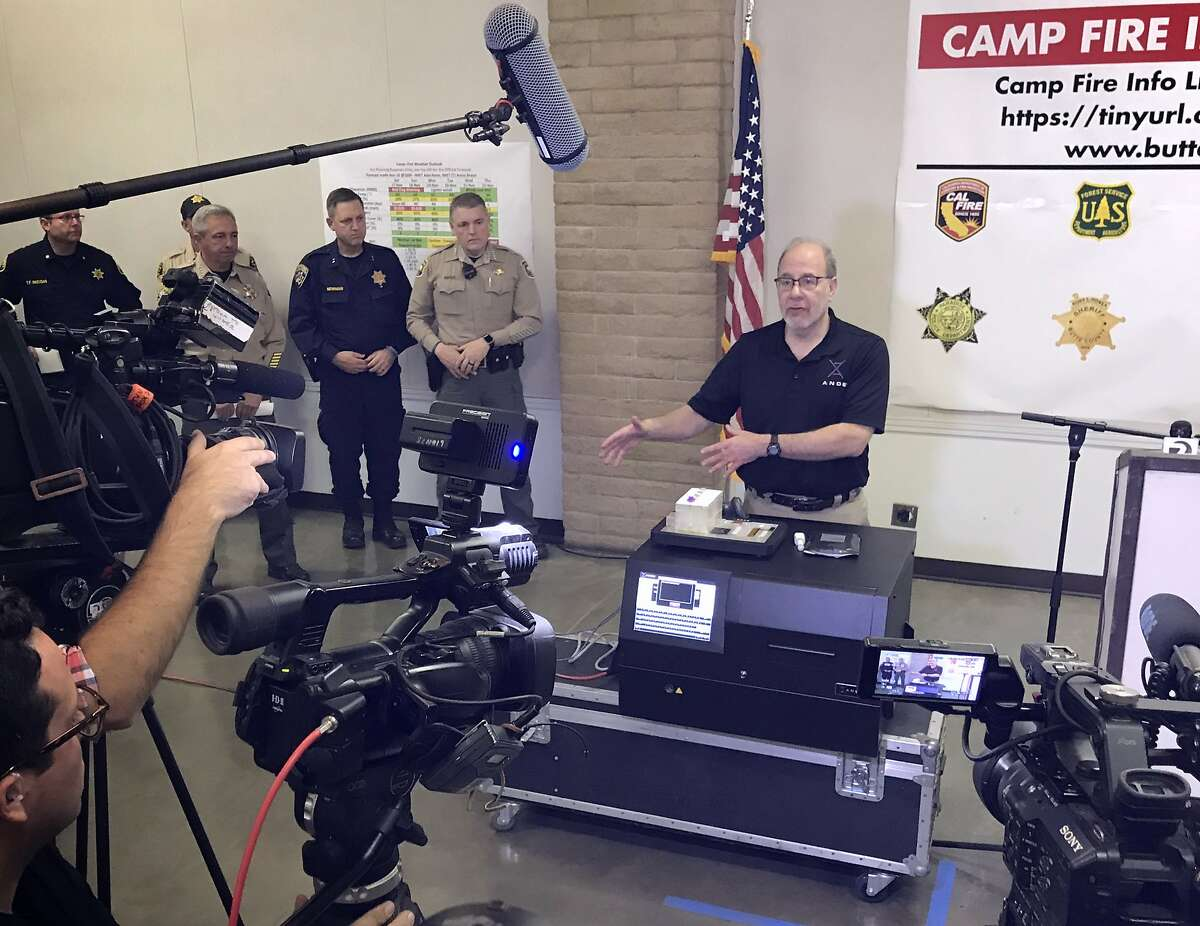 Stephen Meer with ANDE on Friday explains how rapid DNA testing is being used to help identify the remains found after the Camp Fire destroyed Paradise and much of the surrounding area on Nov. 8.