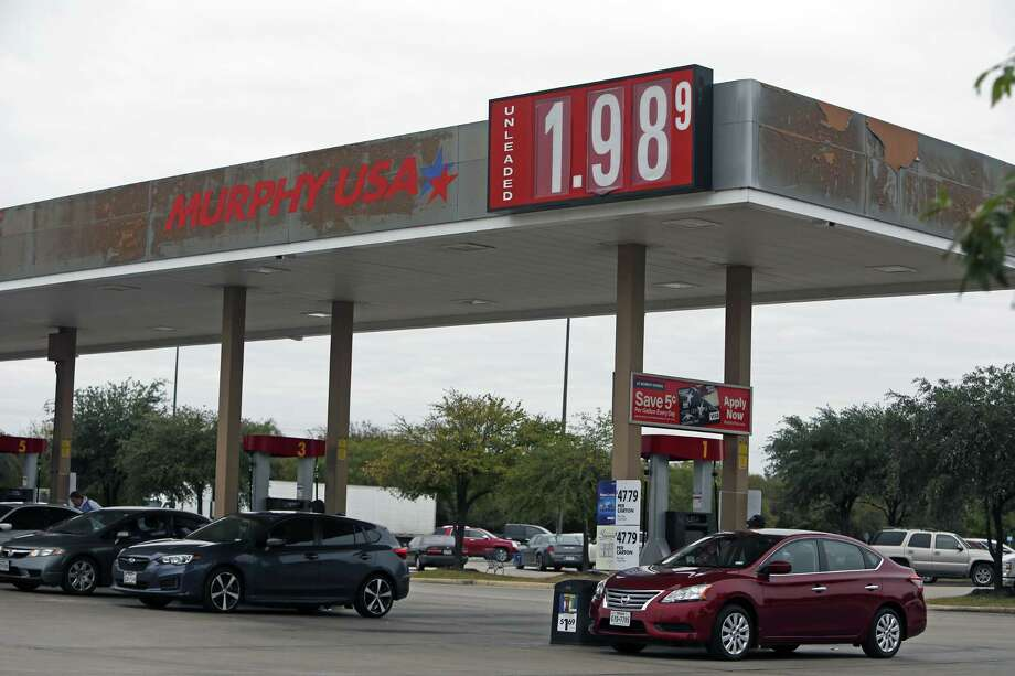 Gas Prices In Texas >> Average Gas Price In Houston Falls Below 2 For First Time Since