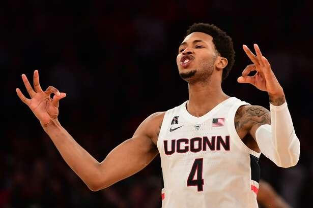 Jalen Adams and the UConn men's basketball team host Cornell on Tuesday.