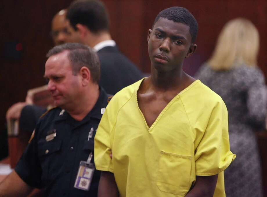 Alan Michal Nickerson was charged at age 17 with capital murder in the shooting death of off-duty Precinct 6 Reserve Deputy Constable Carltrell Lewayne Odom. He is shown here in a court appearance on Dec. 4, 2007 in Harris County. Photo: Steve Ueckert, Staff / Houston Chronicle / Houston Chronicle
