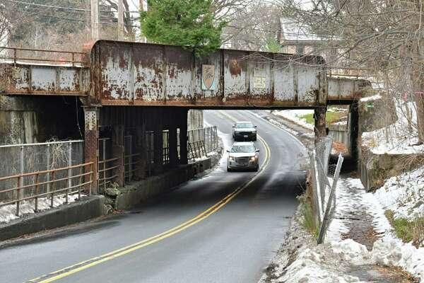 The old D&H railroad bridge that is now part of the rail trail near the Slingerlands trail head on Monday, Nov. 19, 2018 in Slingerlands, N.Y. (Lori Van Buren/Times Union)