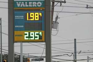 Average gas prices in San Antonio have dipped below $2 for the first time in 2018.
