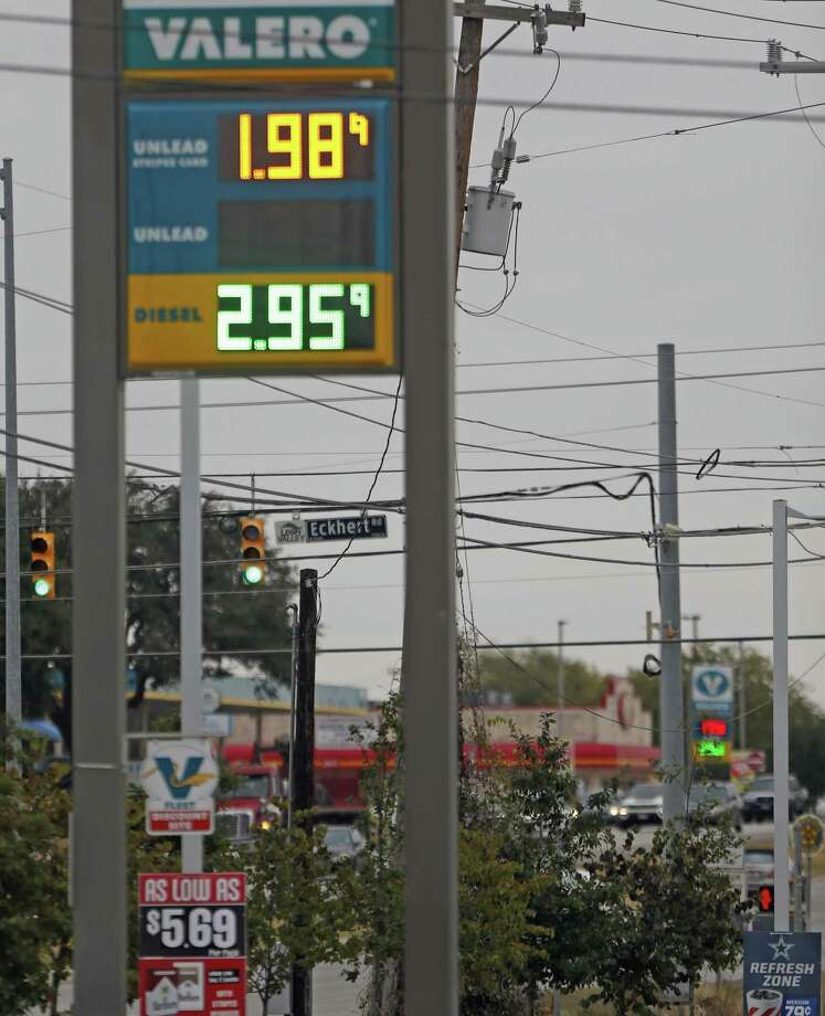 Average gas prices in San Antonio have dipped below $2 for the first time in 2018. Photo: Ronald Cortes /Contributor / / 2018 Ronald Cortes