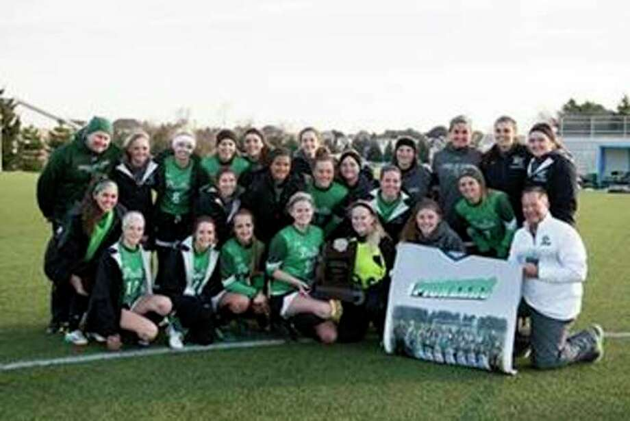 The national runner-up Delta College women's soccer team