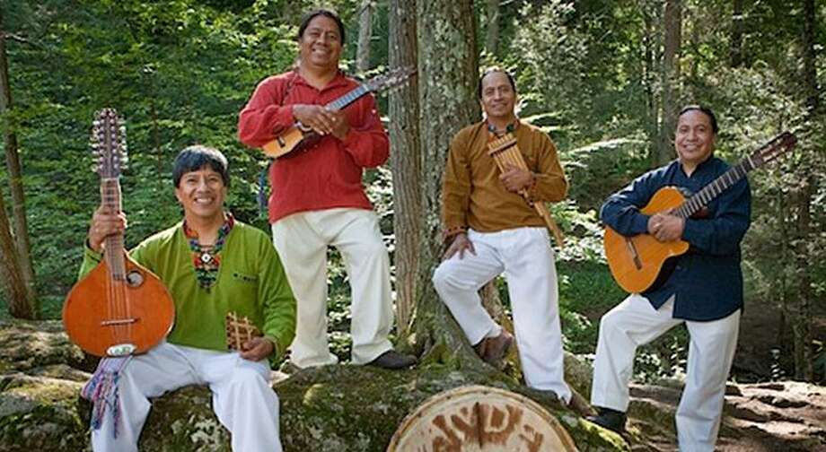 The Collomore Concert Series wraps up its 45th season at the Chester Meetinghouse on Sunday, Nov. 25, with music of the Ecuadorian Andes, played on more than 35 traditional instruments by the music group Andes Manta. Photo: Contributed Photo