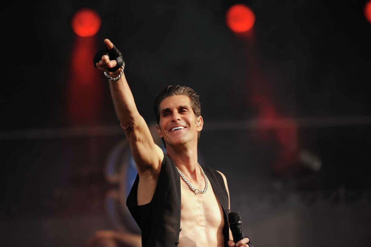 Perry Farrell of Jane's Addiction, performing in Napa Valley in 2013, is busy with numerous projects, including an album by his Kind Heaven Orchestra.
