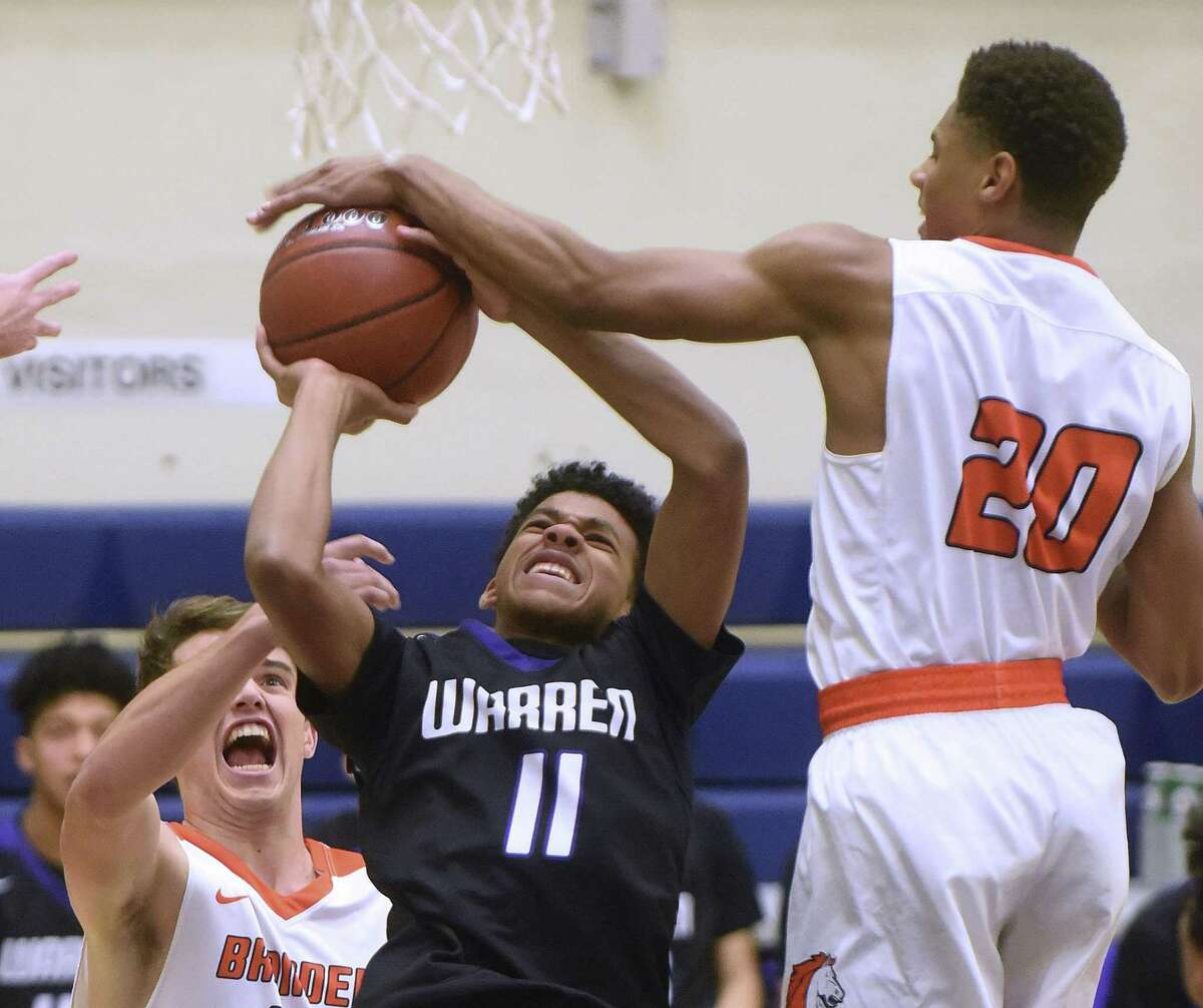 Kino Rodriguez-Thompson (11) of No. 5 Warren is one of the Class 6A players to watch this season.