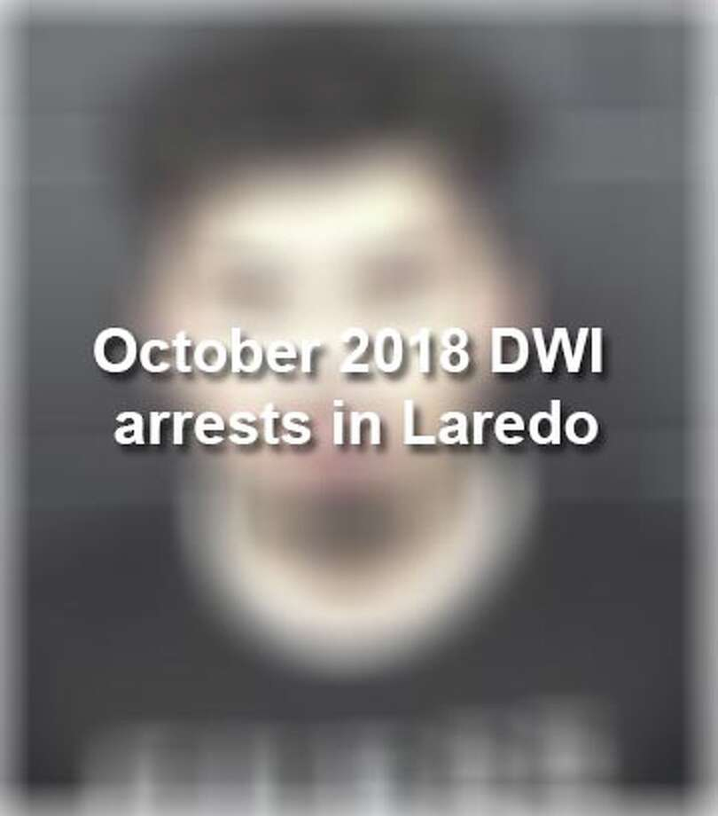 Keep scrolling to see the 67 individuals who were arrested on DWI charges in October, according to the Laredo Police Department. Photo: Laredo Police Department