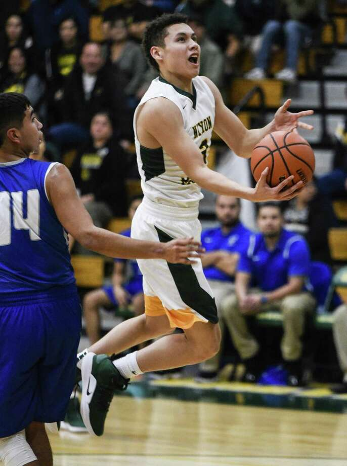 AJ Melendez and Nixon play McAllen Tuesday at 7 p.m. in Zapata in their playoff opener. Photo: Danny Zaragoza /Laredo Morning Times