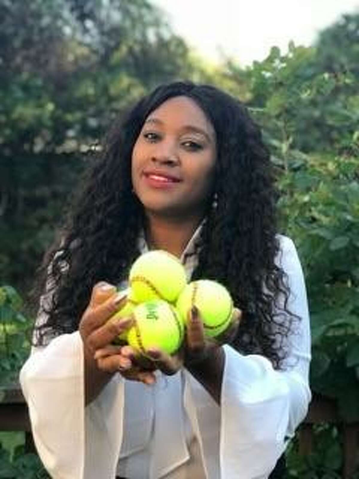 """Tanisha Akinloye, founder and CEO of non-profit """"Empowering Through Beauty Foundation"""" began teaching a program about love, service and respect at Stamford High School in Stamford, Conn. on Oct. 2, 2018."""