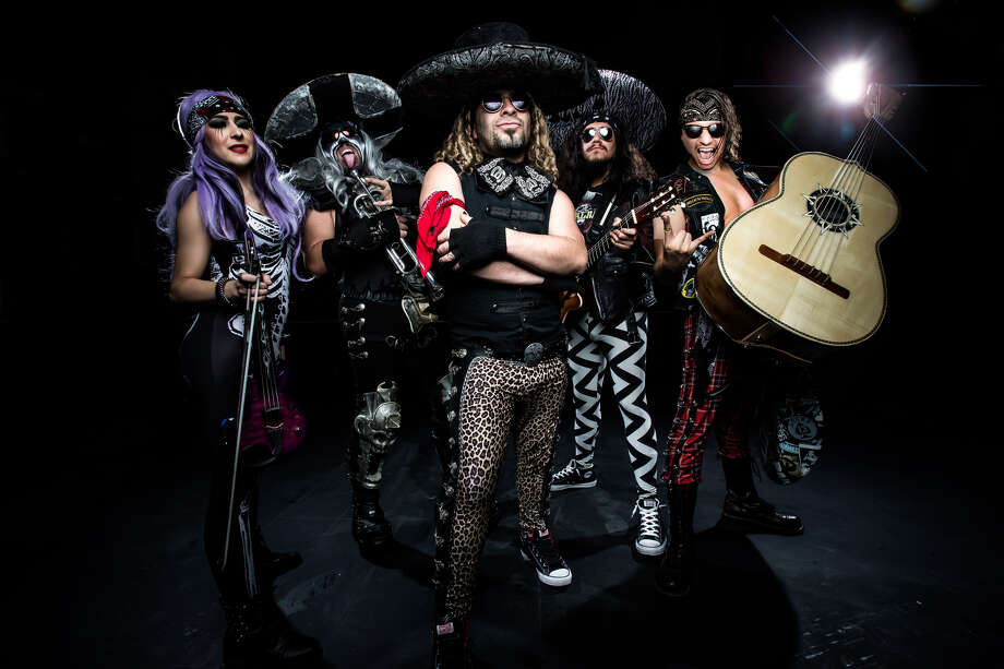 """Metalachi, """"The World's First and Only Heavy Metal Mariachi Band,"""" has a June 2, all-ages show at Paper Tiger. Photo: Courtesy Of Metalachi"""