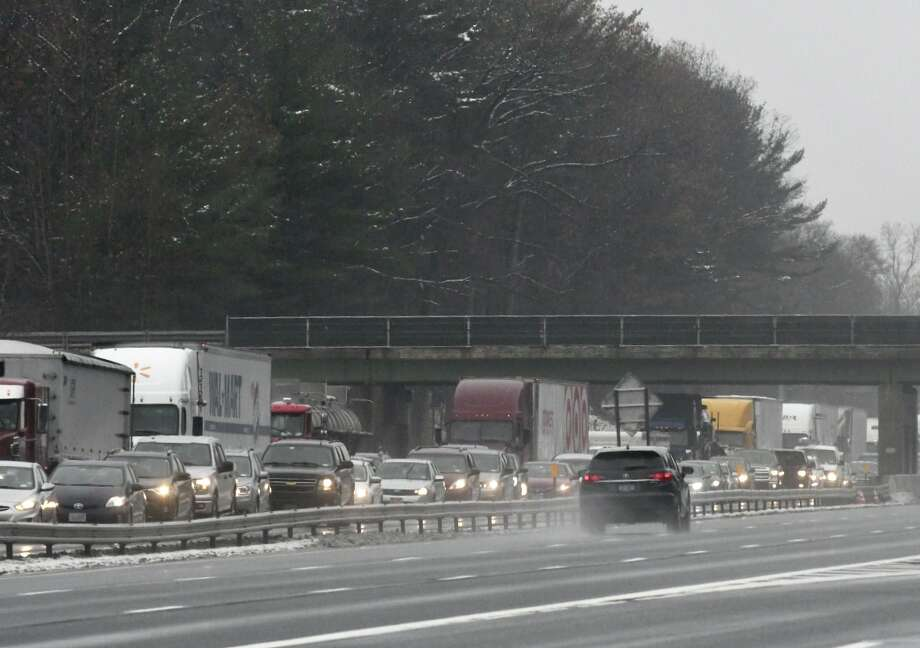 Thruway traffic clogged hours after wreck - Times Union