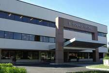 The 8 Sound Shore Dr. building in Greenwich, Conn., where Littlejohn & Co. has offices.