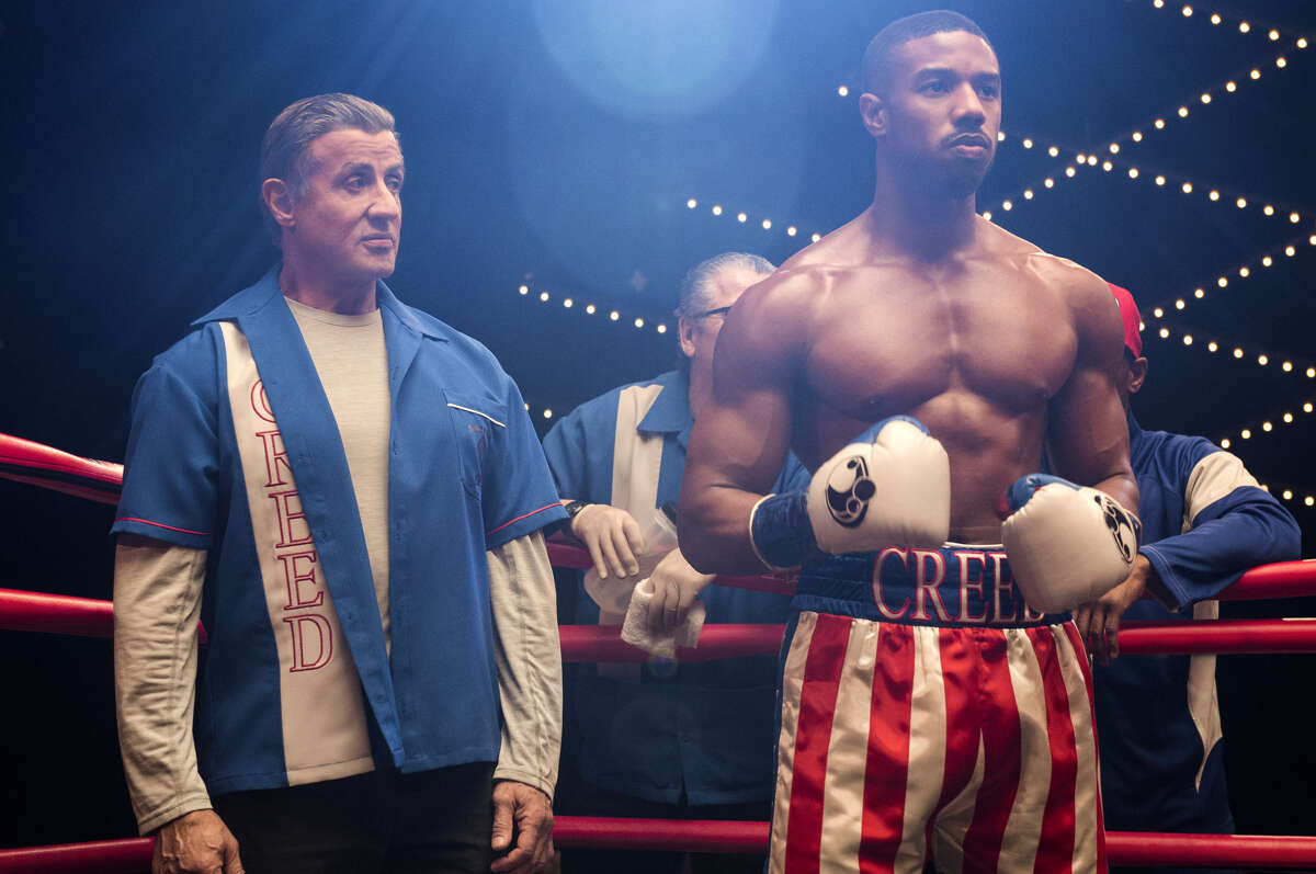 Sylvester Stallone stars as Rocky Balboa and Michael B. Jordan as Adonis Creed in 'Creed II.'