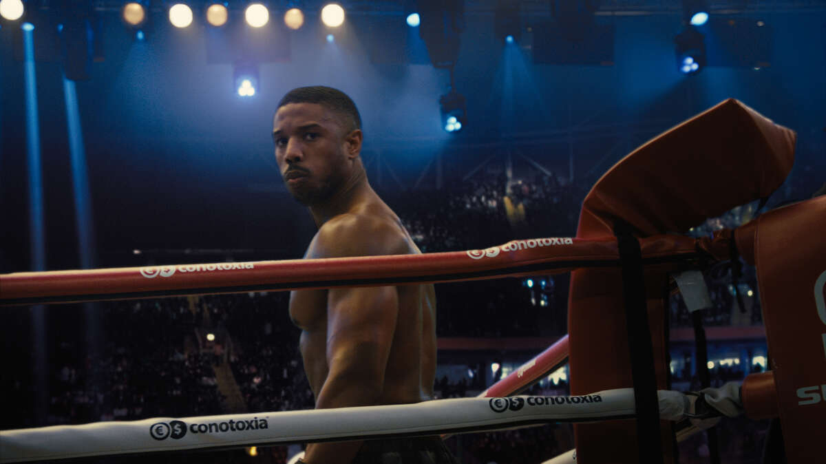Michael B. Jordan in 'Creed II'