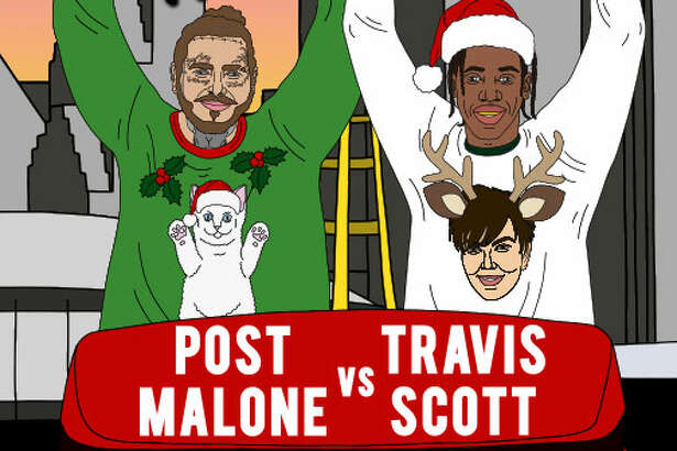 The Trill Sweater Party: Post Malone vs. Travis Scott promises a night full of Texas swag and Astroworld vibes.