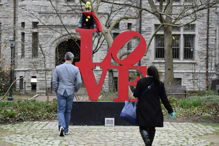 "A Houston lawyer is representing the executor of the estate of famed New York pop artist Robert Indiana, who is best known for his ""LOVE"" sculpture. (Corey Perrine/For the San Antonio Express-News) Photo: Corey Perrine, Freelance / San Antonio Express-News / 2018 Corey Perrine"