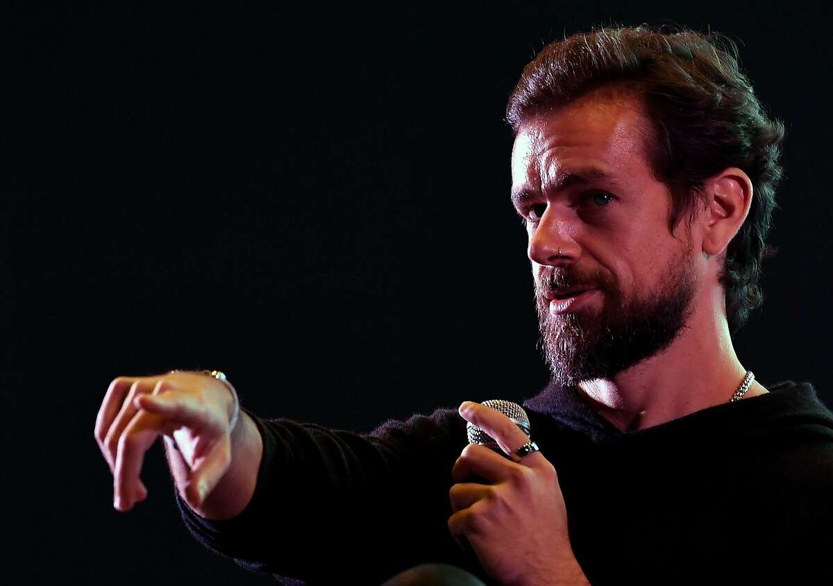 Twitter CEO and co-founder Jack Dorsey gestures while interacting with students at the Indian Institute of Technology (IIT) in New Delhi on November 12, 2018. - Dorsey hosted a town hall meeting with university students on his visit to the Indian capital New Delhi. (Photo by Prakash SINGH / AFP)PRAKASH SINGH/AFP/Getty Images