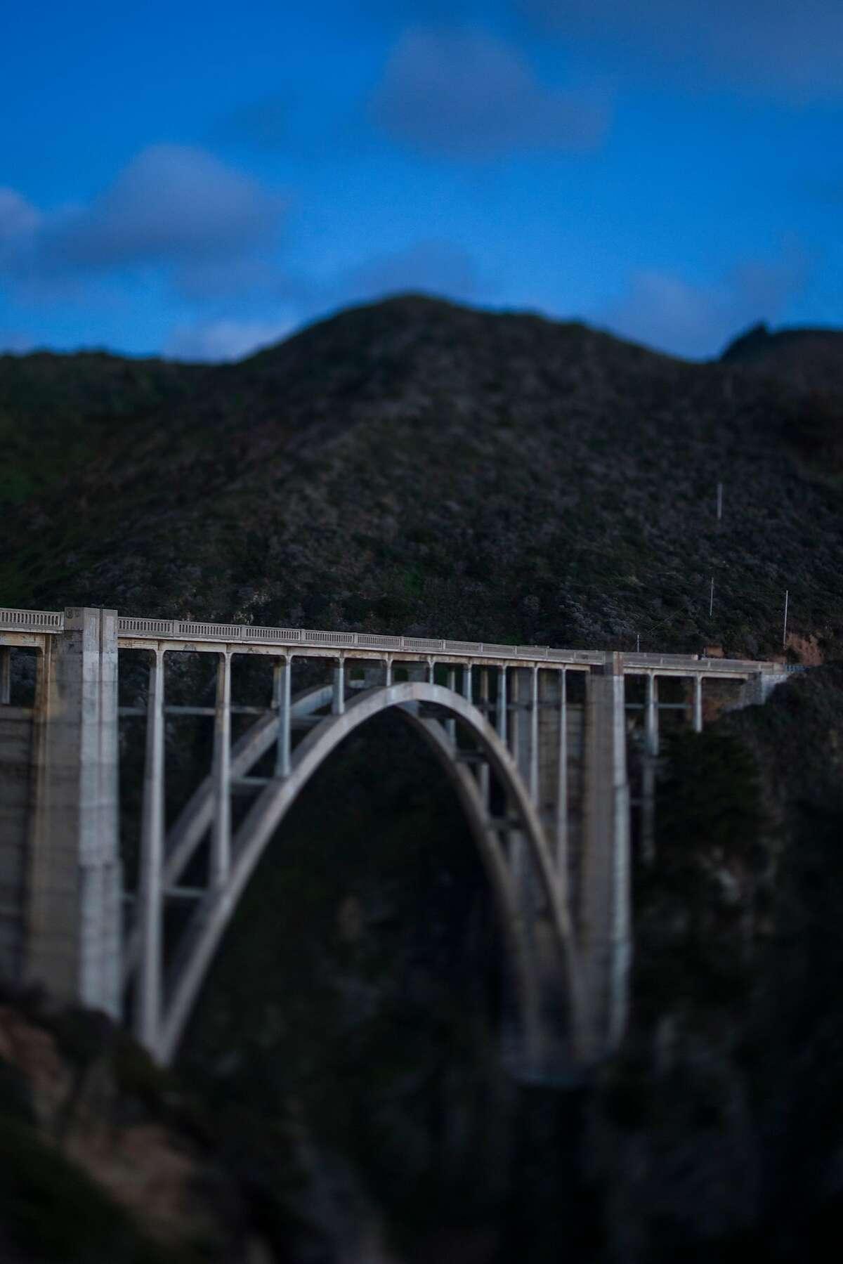Bixby Bridge on Highway 1 near Big Sur, Calif.