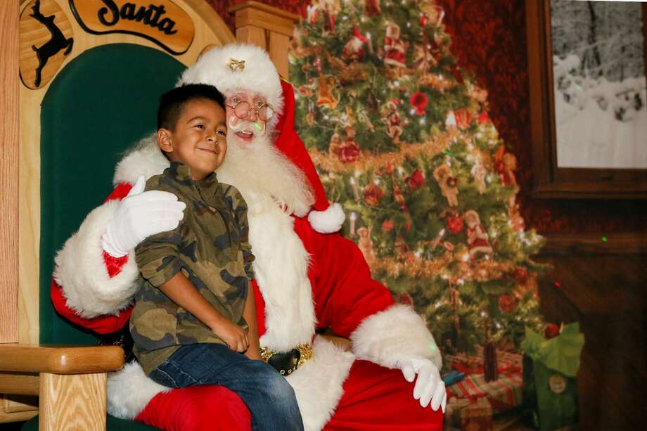 Holiday in the Park 2018: The theme park will transform into a winter wonderland featuring live holiday-themed performances, a display of Christmas lights and interactive activities, including visits with Santa Claus in his cottage. Runs through Jan. 6. Advance tickets and complete holiday schedule available online. Six Flags Fiesta Texas, I-10 West at La Cantera Blvd., 210-697-5050, sixflags.com/fiestatexas. Photo: Marvin Pfeiffer /Staff Photographer / Express-News 2017