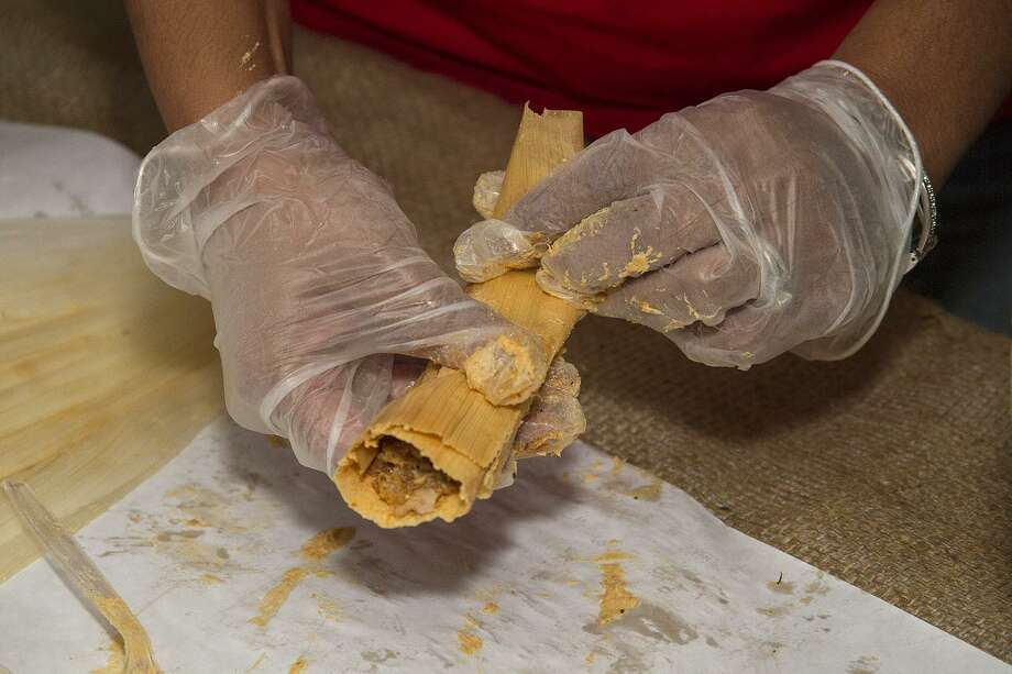 La Tamalada: The Witte keeps this holiday tradition going for its 12th year. Tamal lovers will learn how to make their own tamales with hands-on instruction and will receive two recipes, a history lesson and a dozen homemade tamales to take home. $40 members, $45 nonmembers. 11 a.m.-2:30 p.m. Dec. 14, Witte Museum, 3801 Broadway, 210-357-1900, wittemuseum.org. Photo: Alma E. Hernandez /Contributor