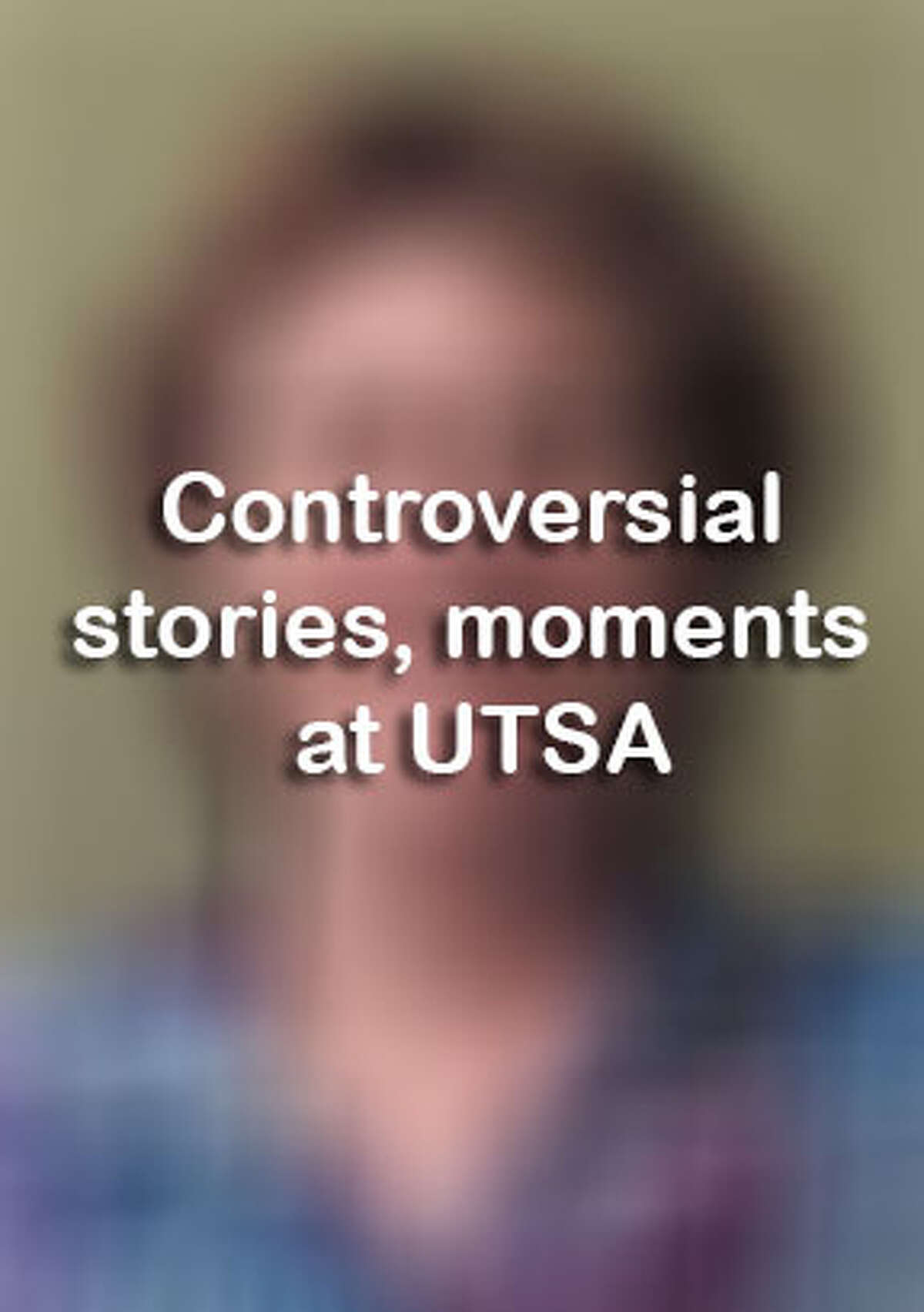 A graphic battle banner, protest and student escort out of class at the University of Texas as San Antonio made headlines this year, but they are the only controversial moments. Click ahead to view other controversies in the news at UTSA.
