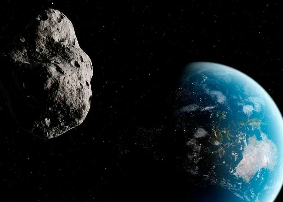 Astronomers discovered a previously unseen asteroid named 2019 CE4 that is about a kilometer, or 0.6 mile, in diameter. Photo: NASA