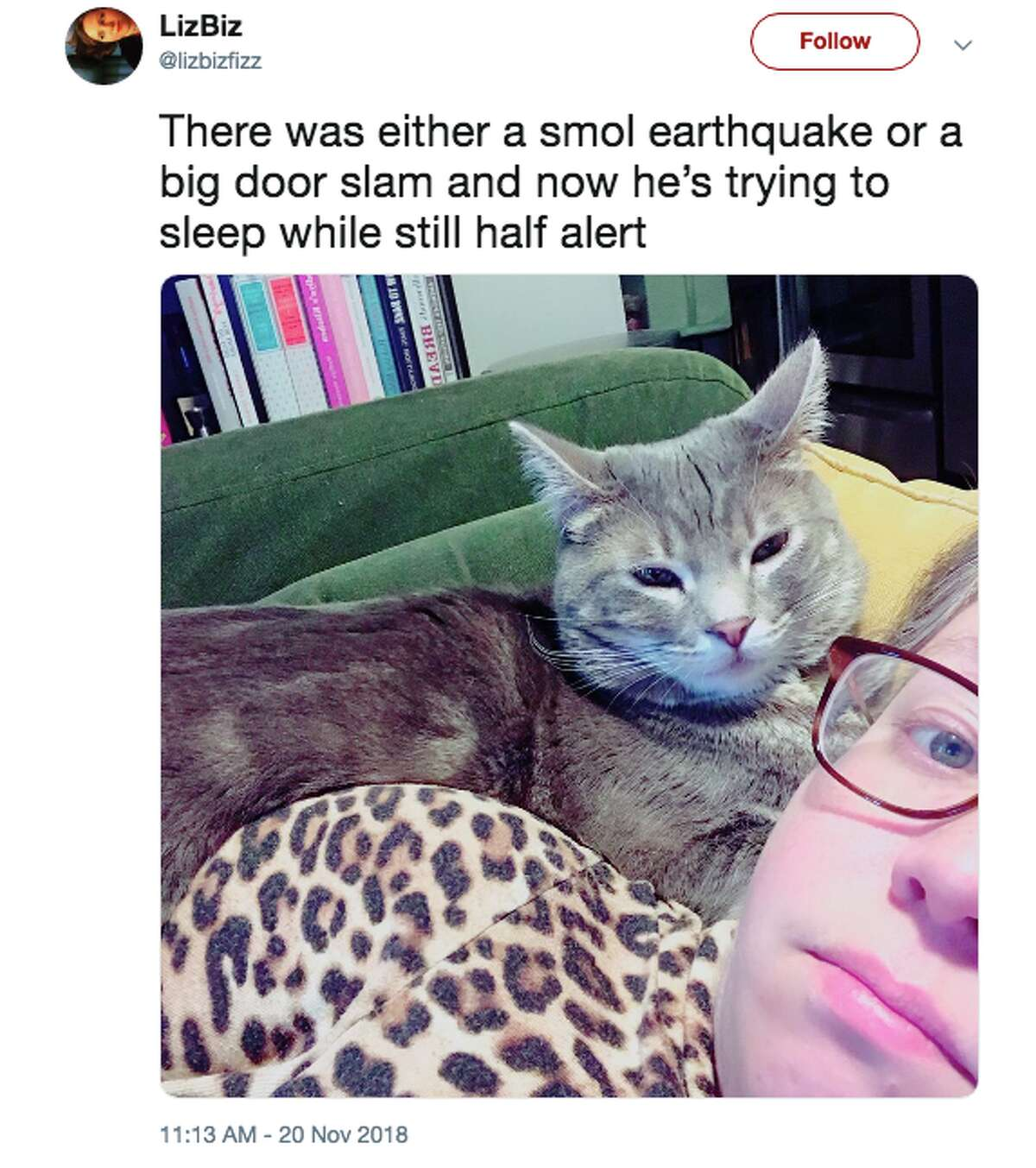 Even a small earthquake was enough to wake up #EarthquakeTwitter in Oakland.