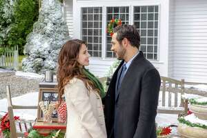 """""""Christmas at Pemberley Manor""""     Debuted:  Oct. 27, Hallmark Channel    Stars:  Jessica Lowndes (""""90210,"""" """"Magical Christmas Ornaments""""), Michael Rady (""""Timeless,"""" """"Jane the Virgin,"""" """"A Joyous Christmas"""")   As Christmas approaches, Elizabeth Bennett (Lowndes), a New York event planner, is sent to a quaint, small town to organize their holiday festival. When she arrives, she finds William Darcy (Rady), a high-profile billionaire lacking in holiday spirit, in the process of selling the charming estate she hoped to use as a venue. Determined to make her event a success, Elizabeth persuades the reluctant Darcy to let her hold the festival on the historical estate once known for its holiday cheer. When they wind up working together to arrange the festivities, the unlikely pair begins falling for each other."""