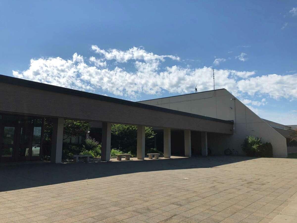 New Canaan High School.