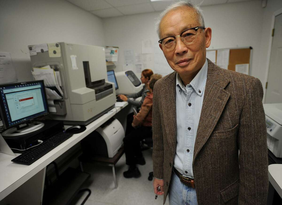 Sin Hang Lee, MD, uses DNA sequencing for early diagnosis of Lyme Disease at Milford Molecular Diagnostics, LLC at 2044 Bridgeport Avenue in Milford, Conn. on Tuesday, November 13, 2018. Lee is suing the CDC over their current method of testing for the disease.