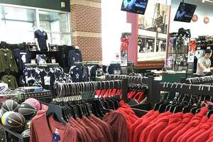 The San Antonio Commanders, the city's new pro football team, rolled out its gear in Dick's Sporting Goods stores throughout the San Antonio area last weekend.