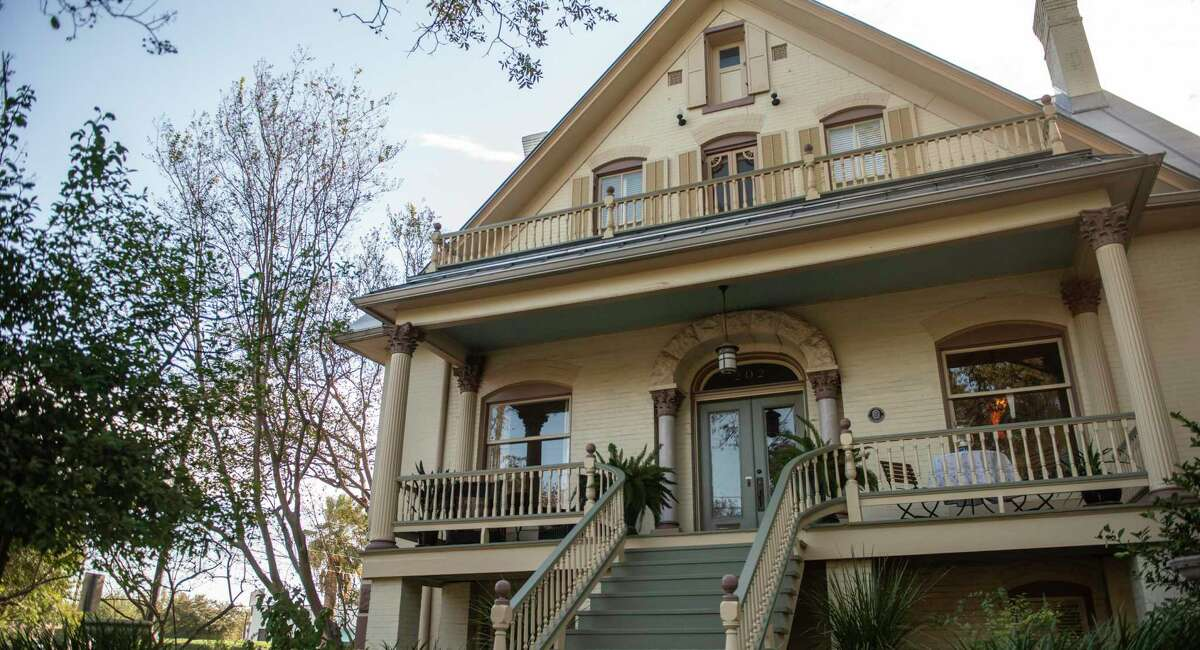 The King William Historical District is home to architectural marvels