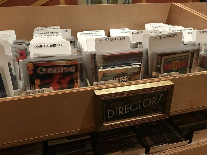 Alamo Drafthouse, which previously housed a kiosk for Lost Weekend Video, has taken over the video rental store's operations and renamed it Video Vortex. The store is seen on Monday, Nov. 19 in San Francisco, Calif.