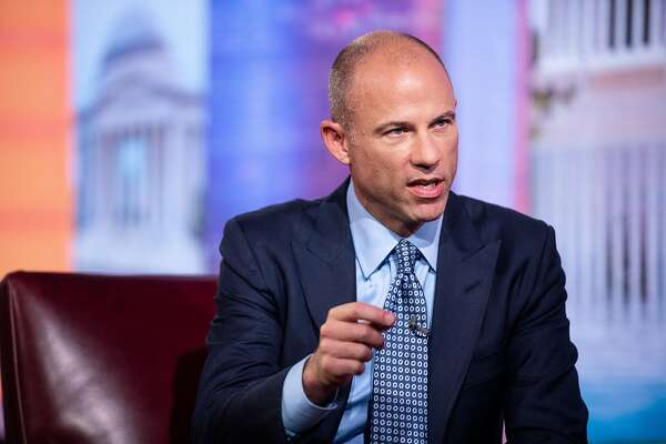 Michael Avenatti speaks during a Bloomberg Television interview in New York on Aug. 2. MUST CREDIT: Bloomberg photo by Mark Kauzlarich
