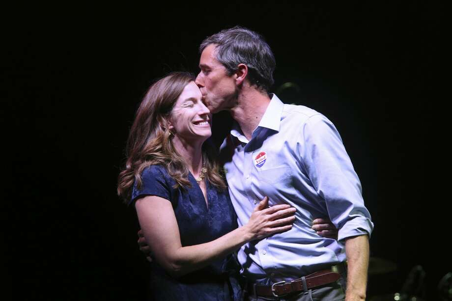 Amy O'Rourke's husband will be the one dominating headline in his 2020 presidential bid, but she was already working in the public sector before she met him.