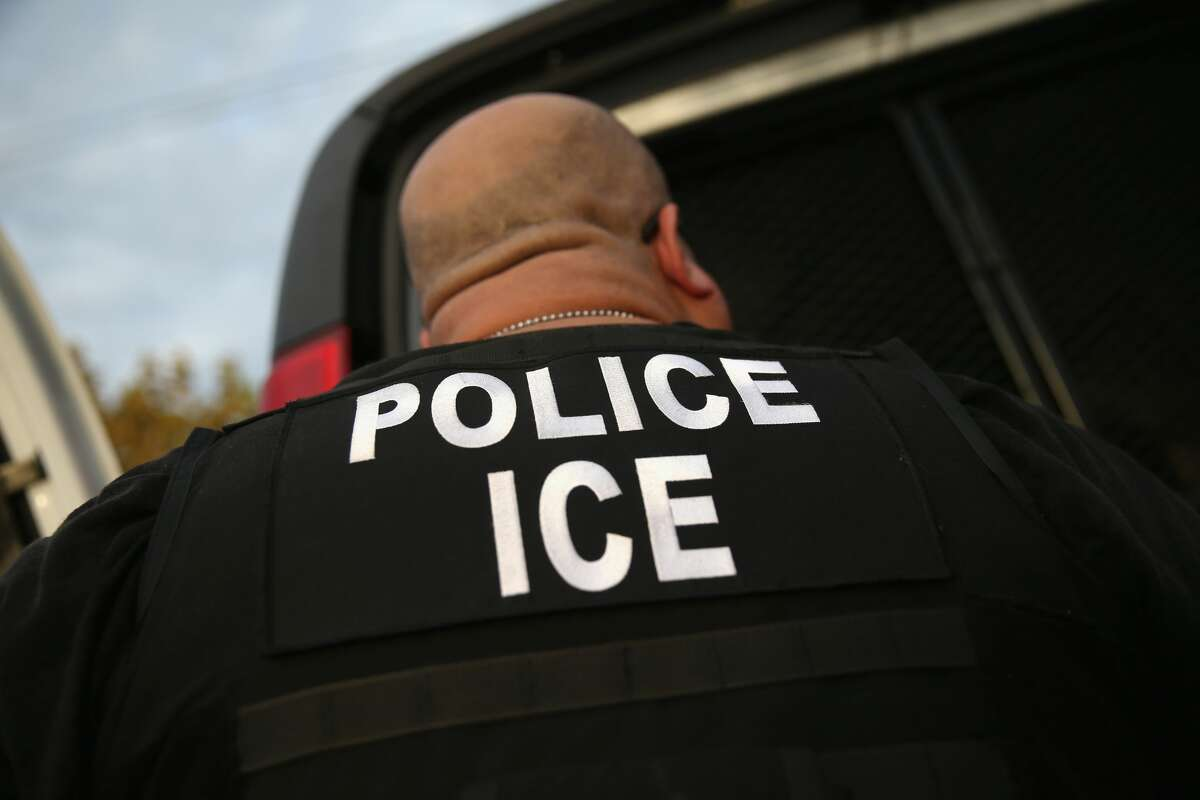 Officials said that 137 asylum seekers from Central America who were previously housed in a holding facility by ICE are taking shelter in Laredo as they await their federal immigration court dates. Keep scrolling to see scenes of Central American immigrants recently crossing the Rio Grande from Mexico into the United States.