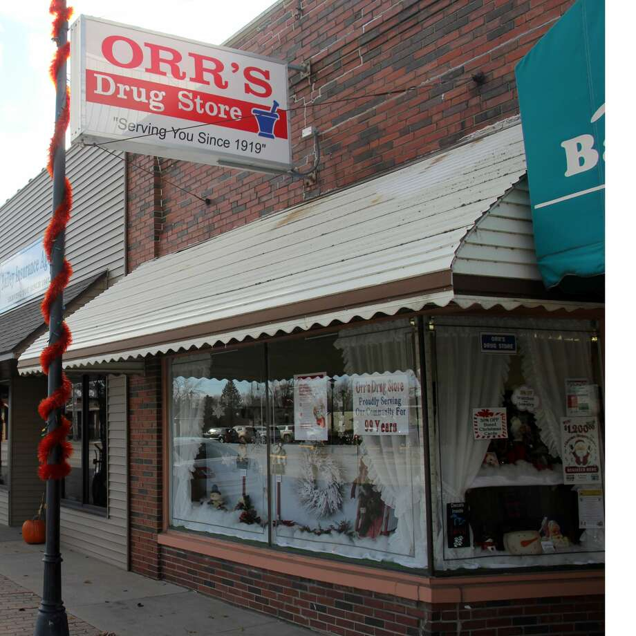 Third generation pharmacist Fred Orr owns Orr's Drug Store in downtown Pigeon. The store has an extensive array of Christmas items available. Photo: Seth Stapleton/Huron Daily Tribune